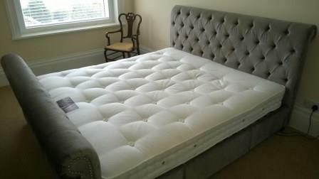 Mint condition next super king size westcott bed with for Classic beds for sale