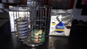 Accessoires Tassimo (support, dosettes)