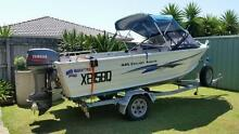 QUINTREX 4.45 ANGLER WITH 40 HP YAMAHA Birkdale Redland Area Preview