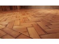 Reclaimed Victorian Parquet Flooring - Pitch Pine in very good condition