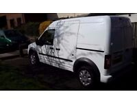 Immaculate Ford Transit Connect, extra height , fully equipped with tools