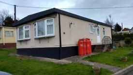Residential Chalet Bungalow Park Home on private quiet semi-retired park for over 55's