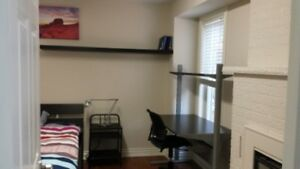Clean, bright, furnished room available near Sheridan