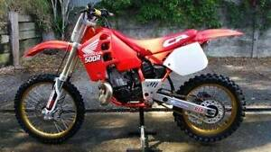 Honda CR500 RK 1989 Rochedale South Brisbane South East Preview