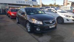 2013 Holden Cruze SRi  Sedan Black Young Young Area Preview