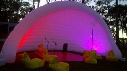 Igloo Disco Portable Party Venue- awesome party hire
