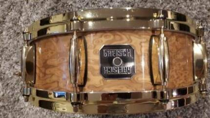 GRETSCH RED CAMPHOR LIMITED EDITION 14 X 5 SNARE