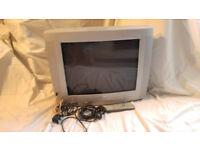 "For Sale Retro 22"" Phillips CRT TV with Radio"