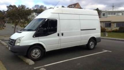 2007 Ford Transit with extras - lined, insulated, 240v electrics Blackmans Bay Kingborough Area Preview