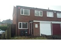 3 BED: DOUBLE GLAZED: FITTED KITCHEN: LARGE RECEPTION ROOM: REAR GARDEN: GARAGE:LOCAL TO M6 MOTORWAY