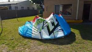 Kite surfing package - Kite, lines, harness & board Rockingham Rockingham Area Preview