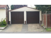 Independent Spacious Double Garage with own driveway