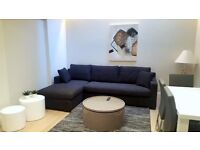 HUGE~SKY WINDOW ~ 1BEDROOM FLAT~MODERN~BRAND NEW~MOVE IN NOW~FULLY FURNISHED~GYM~PORTER~ROOF