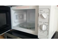 White Microwave - good condition