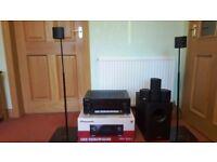Canton Movie 75 home cinema system with Pioneer VSX-930-K AV receiver