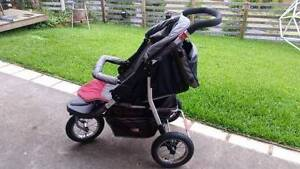 Fisher Price 3 Wheel Jogging  Pram New Lambton Heights Newcastle Area Preview