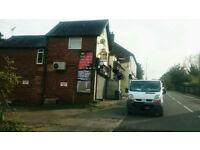 Shop treble fronted to let with customer parking, Ash Vale, Aldershot.
