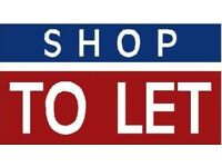 TO LET SHOP With FLAT Above!!