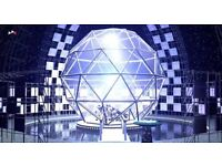 1 x Crystal Maze Ticket - Wednesday 26th October - 4pm - London
