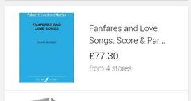 4 Faber sheet music books brand new