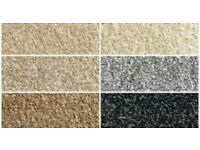 New carpet various colours