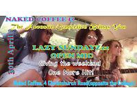 Lazy Sundays New Free Open Mic & Live Music Showcase @ Lansdowne's Naked Coffee