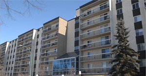 Large one bedroom, 6th floor South Regina