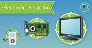 Recycling unwanted broken computers, laptops, monitors, & More!