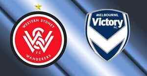 ABSOLUTE BARGAIN 2x Western Sydney Wanderers v Victory Sat 7:50 Sydney City Inner Sydney Preview