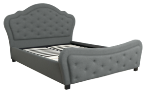 Brand New Queen Size Bed Frame in Grey Fabric # 1 Year Warranty Jandakot Cockburn Area Preview