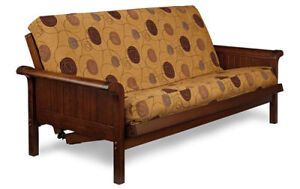 New solid wood futon frames from $249 free delivery in Ptbo Peterborough Peterborough Area image 2