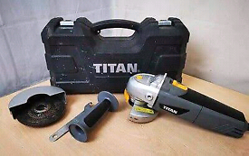 Titan angle grinder TTB281GRD 750W 4½