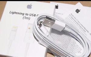 GENUINE & ORIGINAL APPLE USB DATA CABLE WIRE CHARGER IPHONE IPAD
