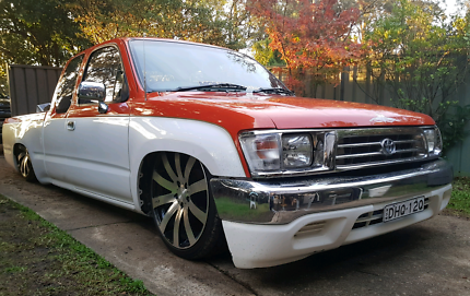 1998 BAGGED AND ENGINEERED HILUX MINITRUCK