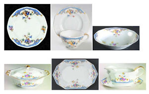Pricess China - Belwood Bavaria - Set de vaisselle pour 12