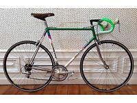 Rare 80s Columbus menet bike, shimano 105 groupset