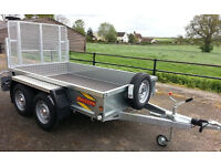 BATESON 0854 8' x 5' General Purpose Trailer with sides and ramp