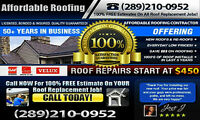 Commercial Roofer..FREE Roofing Inspections