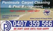 Peninsula Carpet Cleaning & Pest Management; 3 rooms from $65 Redcliffe Redcliffe Area Preview