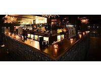 Loop Bar&Club in Mayfair is hiring full time and part time bartenders
