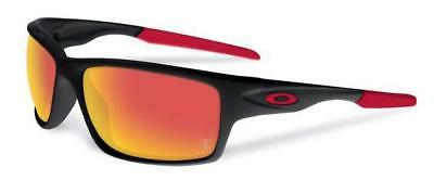 Used, NEW OAKLEY - FERRARI canteen - Matte Black / Rudy Iridium Polarized, OO9225-06 for sale  Shipping to Canada