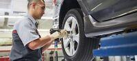 Tire and oil technician
