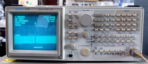 Tektronix 2712 Spectrum Analyzer 9khz to 1.8Ghz with GPIB connector