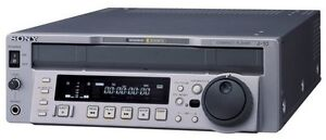 Sony J-10 Broadcast Player for Betacam, SP & SX NTSC/PAL