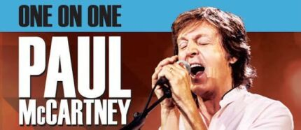 1 x Paul McCartney Melbourne Wed 6th Dec Ticket