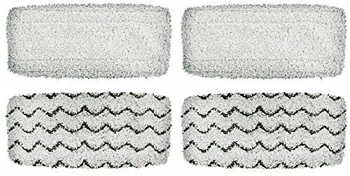 4 washable mop pads