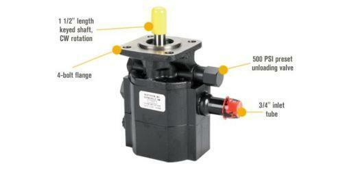 Barnes hydraulic pump ebay for Cessna hydraulic motor identification