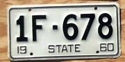 Sample License Plates