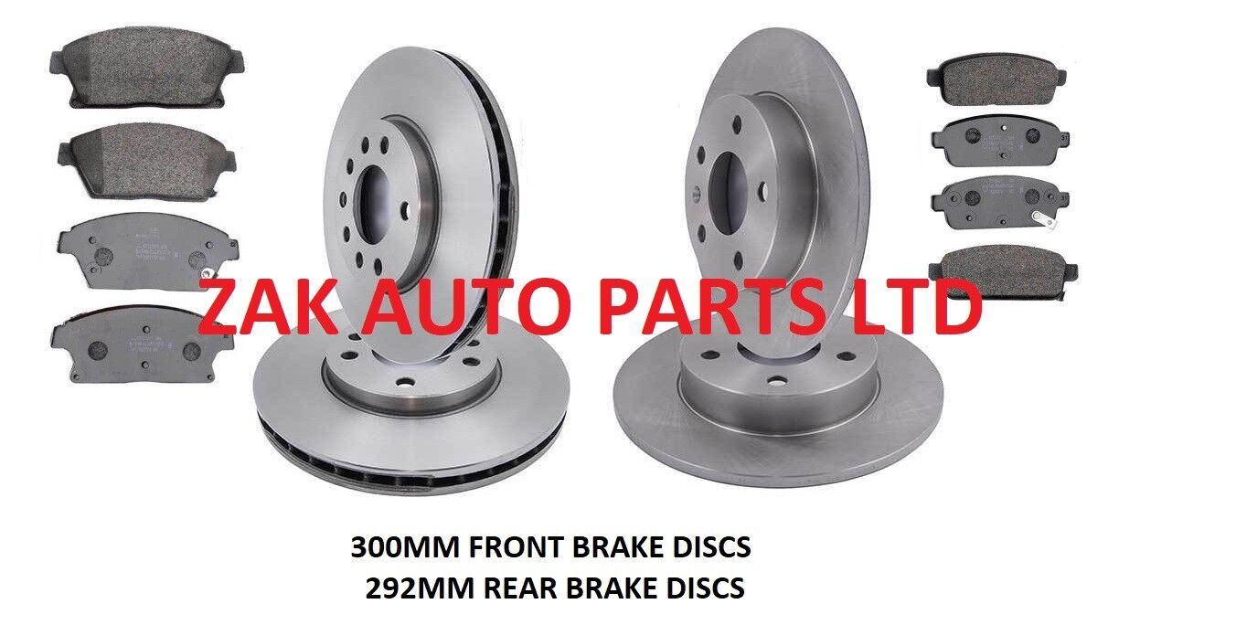 New Opel Zafira B 1.9 CDTI Genuine Mintex Rear Brake Discs Pair x2
