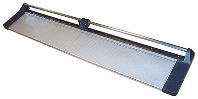 New 47 Manual Rotary Paper Cutter Trimmer Wide Format 1 Spare Blade